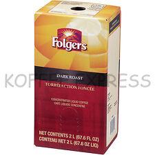 Folgers 2 Liter Dark Roast (One) - Replaces Douwe Egberts European Dark Roast