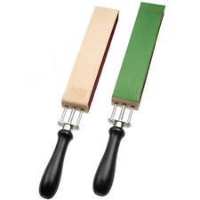 HK Solingen Straight Razor Strop Adjustable Tension 2 Sharpening Sides