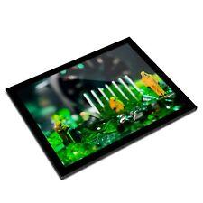 A3 Glass Frame - Technician Motherboard IT Art Gift #3594