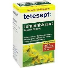 TETESEPT Johanniskraut-Kapseln 100St Hartkapseln PZN 8518216