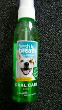 TropiClean Fresh Breath Oral Care Spray Original for Dogs 4 ounce Exp 10/2025