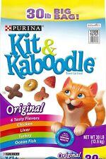 Purina Kit & Kaboodle - Adult Dry Cat Food - 30lb BIG Bag! $AVE!!!