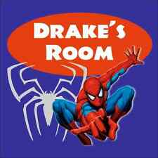 Personalized SPIDERMAN SIGN add name