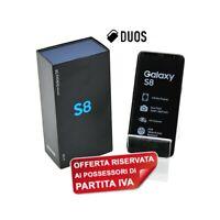 "SAMSUNG GALAXY S8 DUOS 64GB GRAY 5,8"" DUAL SIM G950FD G950F PER P.IVA-"