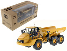 CAT CATERPILLAR 725 ARTICULATED TRUCK W/OPERATOR 1/50 BY DIECAST MASTERS 85073