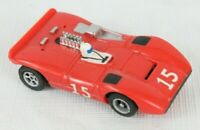 Vintage Cox A/FX Ho Scale Red Ferrari Canam 612 Slot Car 1751