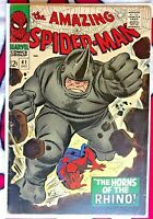 First RHINO Amazing Spider-Man #41 1st Appearance RHINO Marvel First Appearance