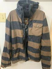 Nitro Snowboard Jacket - Large (Brown & Black)