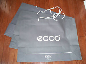 Lot of 3 Pcs Ecco Paper Bags XL, New without Tag