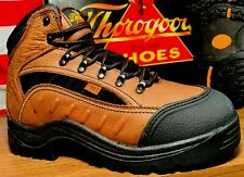 THOROGOOD MEN SIZE 14 M INTERNAL METATARSAL SAFETY STEEL TOE BOOTS 804-4312