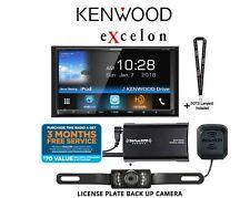 """New listing Kenwood eXcelon Ddx795 6.95"""" Wvga Dvd Receiver w/ Bluetooth & Hd Radio w/ Sirius"""