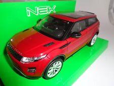 Land/Range Rover Evoque / Modellauto / Nex Models /Rot /1:24 / Welly / Neu/OVP