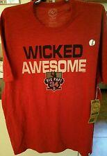 Boston Red Sox 47 Brand Men's Scrum t-shirt NWT Size XXL Big Papi Ortiz