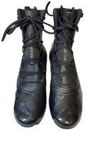 New Mens Under Armour cleats black football Highlight Size 10 MC 3021478-004