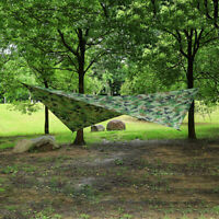 Waterproof Large Lightweight Camping Tent Tarp Shelter Hammock Rain Fly Cover