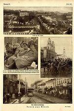 Minsk 1918 quattro fotografie storiche