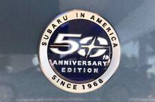 NEW Genuine OEM Subaru in America Since 1968 50th Anniversary Edition Badge