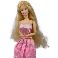 Vintage Ballerina Barbie Fashion Doll Mattel 90's Ballet Pink Dress Articulated