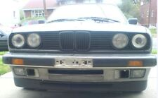 For BMW E30 3-Series Front Big Bumper Chin Spoiler Lip Sport Valance Splitter-