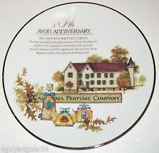 Avon Collector Plate 10th Anniversary California Perfume