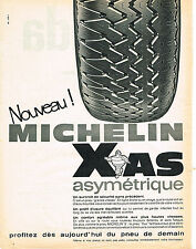 PUBLICITE ADVERTISING   1966   MICHELIN PNEU  XAS