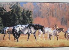 "APPALOOSAS HORSES RANCHING OLD WEST Wallpaper MURAL 6' x 10' 6"""