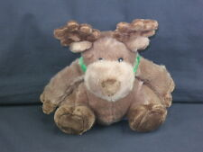 BATH & BODY WORKS BROWN CHRISTMAS MOOSE POTBELLY PLUSH STUFFED ANIMAL TOY