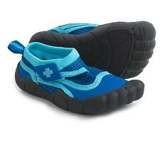 CLOSE OUT OFFICIAL LIFEGUARD TODDLER BLK AND BLUE WATER ACTIVITY SHOES SIZE 7/8