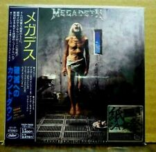 MEGADETH Countdown To Extinction + 4 CD Japan OBI MINI-LP Sleeve NEW!