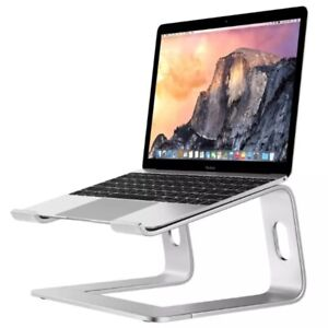 Two-color Laptop Stand, Ergonomic Aluminum Computer Stand for 10-17'' Notebook