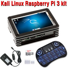 "Kali Linux 2 32GB Raspberry Pi 3 Model B+ kit Assembled with 3.5"" Touch Screen"