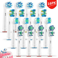 16Pcs Replacement Tooth Brush Heads Set For Braun Oral B Electric Toothbrush