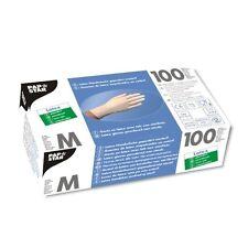 1000 weisse Latex Handschuhe gepudert Einweghandschuhe Größe M