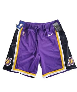 NBA Nike Los Angeles Lakers Statement Edition courtside 2019-2020 Shorts SZ XL