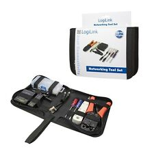 NETWORKING TOOL SET CRIMPING + LSA PUNCH DOWN + STRIPPING + CABLE TEST + ADAPTER