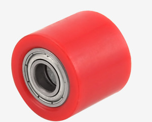Universal RED Chain Roller Tensioner Pulley Wheel Guide Motorcycle Dirt Bike