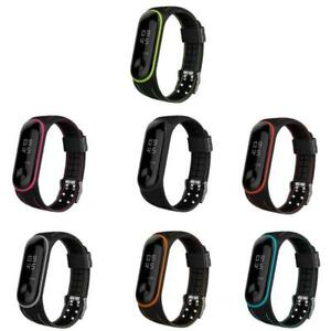 Replacement Honeycomb Silicone Bracelet Watch Band Strap For xiaomi Mi Band 3 4
