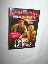 Six Days Seven Nights (DVD 1998) Harrison Ford, Anne Heche; New/Sealed