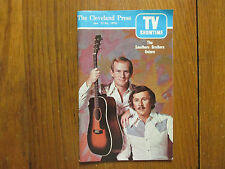Jan 17-1975 Cleveland Press TV Showtime Mag(THE SMOTHERS BROTHERS/JA'NET BUBOIS