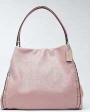 Coach 35211 Studded Madison Phoebe Leather Shoulder Bag TUBEROSE Pink NWT