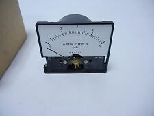 WESTON AC CURRENT 5 AMP METER - FOR ELECTRONICS INSTRUMENT MULTIMETER POWER
