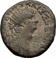 NERO 64AD Alexandria in Egypt Billon Silver Tetradrachm Roman Coin EAGLE i52636