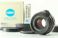 Late Model [MINT++ in BOX] MINOLTA M-Rokkor 40mm f2 for CL CLE Leica M Mount JP