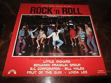 BIXIO FRIZZI TEMPERA ROCK'N ROLL 1978 OST LP Italo Cosmic Disco Funk NM Unplayed