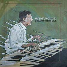 STEVE WINWOOD CD - GREATEST HITS LIVE [2 DISCS](2017) - NEW UNOPENED