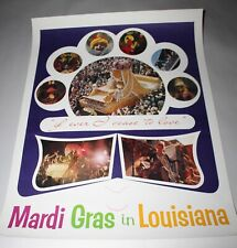 Mardi Gras New Orleans Dance 1939 Carnival Vintage Poster Repro FREE SH in USA