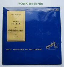 COLH 15 - BACH - Concertos No 1 4 & 5 EDWIN FISCHER - Excellent Con LP Record