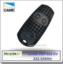 Came 2 Button Gate Remote CAME TOP 432NA, CAME TOP432EV Now CAME TOP 432EE