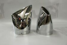 New Genuine Accessories Victory Exhaust Pipe Chrome Big Mouth Tips Cross-Country