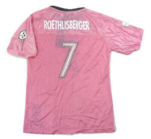 Reebok Youth Girls  NFL Pittsburgh Steelers Ben Roethlisberger Jersey NWT S, XL